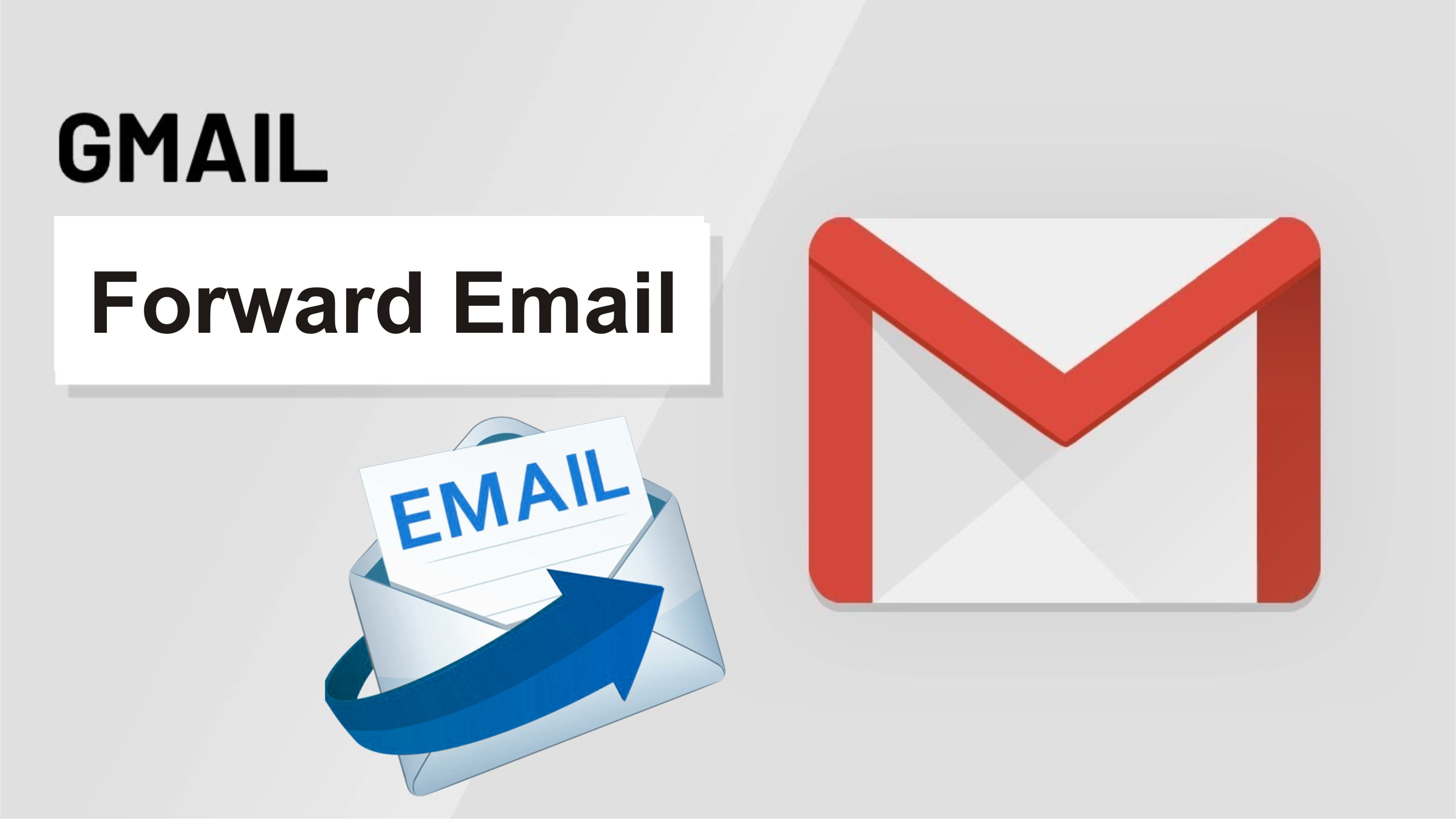 How to Forward Gmail Messages from one Account to Another