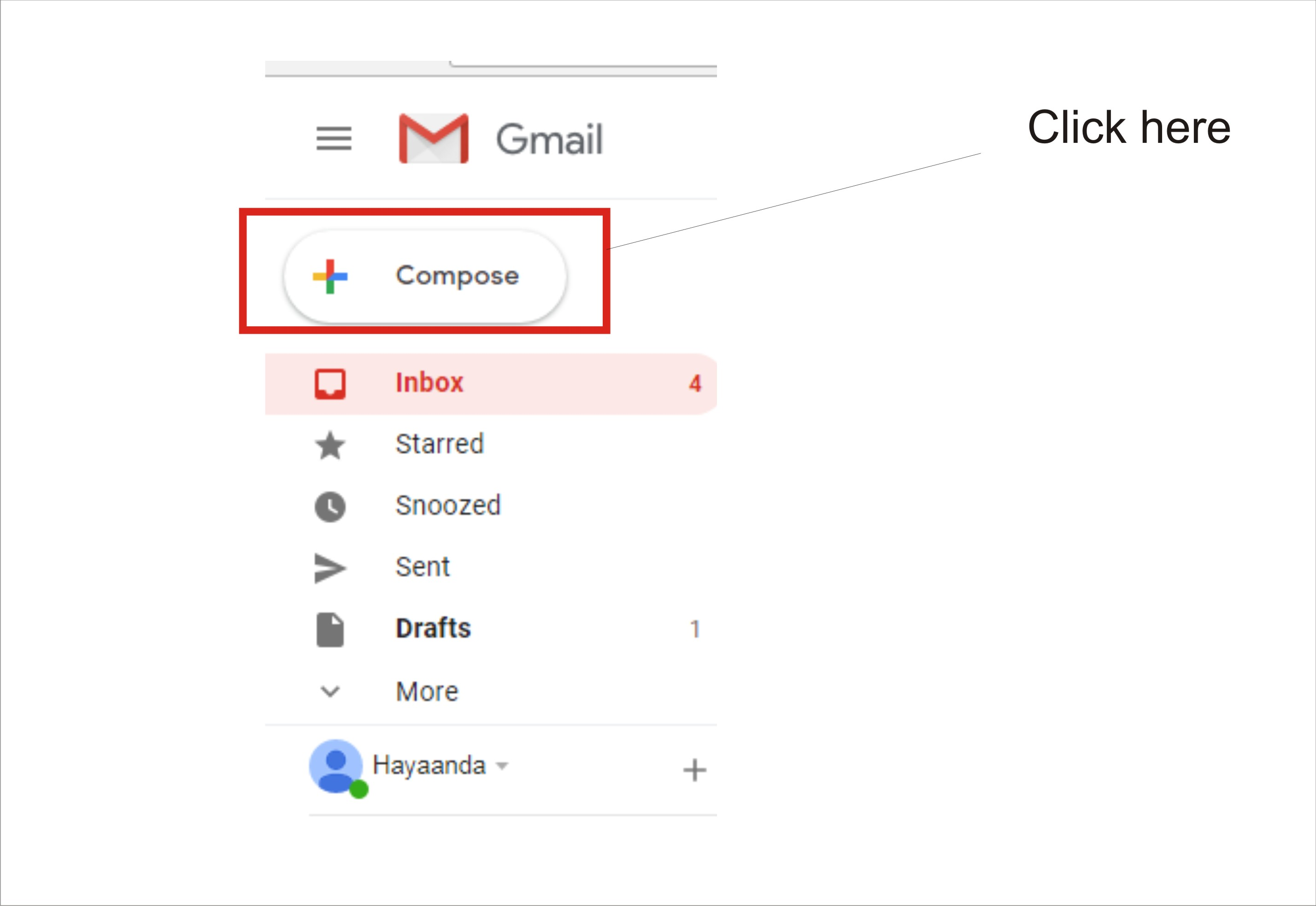 send an email on gmail